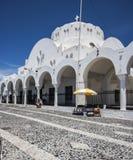 Cathedral at Fira, Santorini Royalty Free Stock Photos