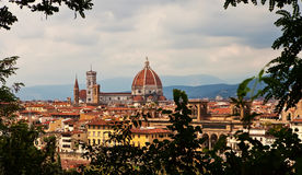 Cathedral in Florence. Stock Photos