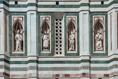 Cathedral of Florence,architectural detail,Italy Royalty Free Stock Photo