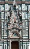 Cathedral of Florence,architectural detail,Italy royalty free stock image