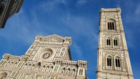 Cathedral in Florence with blue sky Stock Photos