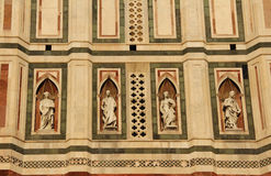 Cathedral of Florence detail. Italy. Italy. Cathedral of Florence (La Cattedrale di Santa Maria del Fiore) detail Stock Photos