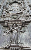 Cathedral of Florence detail. Italy royalty free stock photos