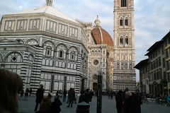 Cathedral of Florence Stock Photo