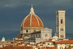 Cathedral of Florence Royalty Free Stock Photography