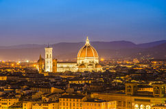 Cathedral in Florence, Italy Royalty Free Stock Images