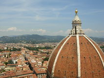 Cathedral of Florence, Italy. The Famous Dome of the Cathedral of Florence--Italy stock photography