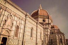 Cathedral in Florence, Italy Stock Images