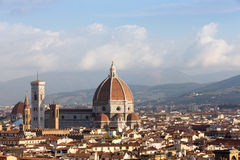 Cathedral of Florence, Italy in Morning Light Stock Photo