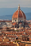 Cathedral in Florence main dome. Royalty Free Stock Photos