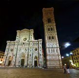 Cathedral in Florence and night Royalty Free Stock Photo