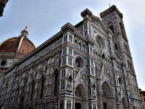 Cathedral in Florence. One awesome moment in Italy city Stock Photos