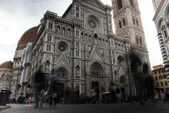The Cathedral of Florence shot during the day stock image