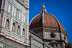 Cathedral in Florence, Tuscany, Italy Royalty Free Stock Images