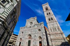 Cathedral in Florence in Tuscany, Italy Stock Photography