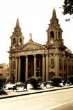 Cathedral in Floriana,Valletta,Malta Stock Image