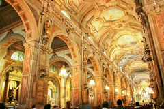 Cathedral Fo Santiago Fo Chile Stock Photography