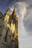 Cathedral of Fontenay-le-Comte Stock Photos
