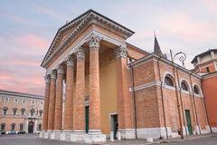 Cathedral of Forli, Emilia Romagna, Italy Royalty Free Stock Image
