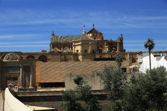 The Cathedral and former Great Mosque of Cordoba; Andalusia, Spain Royalty Free Stock Images