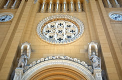 Cathedral, Fot, Hungary. Roman catholic cathedral in  Fot, Hungary Stock Photos