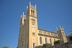 Cathedral, Fot, Hungary. Roman catholic cathedral in  Fot, Hungary Stock Photography