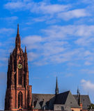 Cathedral in Frankfort on Main, Germany Royalty Free Stock Photography