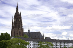 Cathedral of Frankfurt. Called Kaiserdom Royalty Free Stock Images