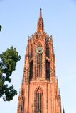 Cathedral of Frankfurt Stock Images