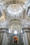 Cathedral  Frauenkirche. Stock Image