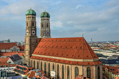 Cathedral Frauenkirche in Munich, Bavaria Royalty Free Stock Photo