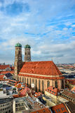 Cathedral Frauenkirche in Munich, Bavaria Stock Photography