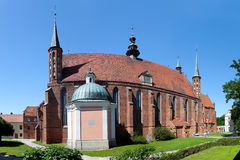 Cathedral in Frombork, Poland Royalty Free Stock Image