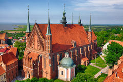 Cathedral in Frombork, Poland Stock Photo