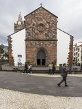 Cathedral of Funchal Stock Image