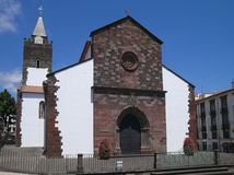 Cathedral of Funchal, Madeira Royalty Free Stock Images