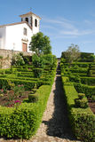cathedral and garden in Marvao,Portugal Stock Photo