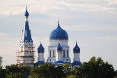 Cathedral in Gatchina Stock Photos
