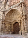 Cathedral gate. In Astorga, Spain Stock Photography