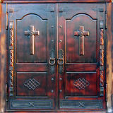 The Cathedral Gates Royalty Free Stock Image