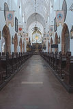 Cathedral in Gdansk Oliwa Poland Royalty Free Stock Photography