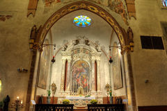 Cathedral of gemona chapel of the holy sacrament Royalty Free Stock Photo
