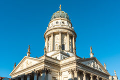 Cathedral at the Gendarmenmarkt Stock Photos