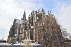 Cathedral in germany Royalty Free Stock Photos