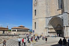 Cathedral of Gerona Stock Photography