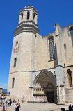 Cathedral of Gerona Stock Images
