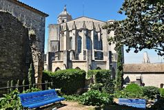 Cathedral of Gerona Royalty Free Stock Photography