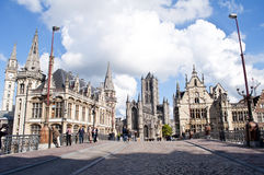 Cathedral of Ghent Royalty Free Stock Photos