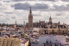 The Cathedral and Giralda Stock Photos