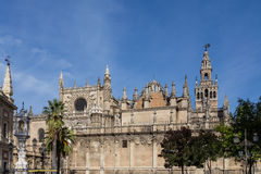 The Cathedral and Giralda Royalty Free Stock Image